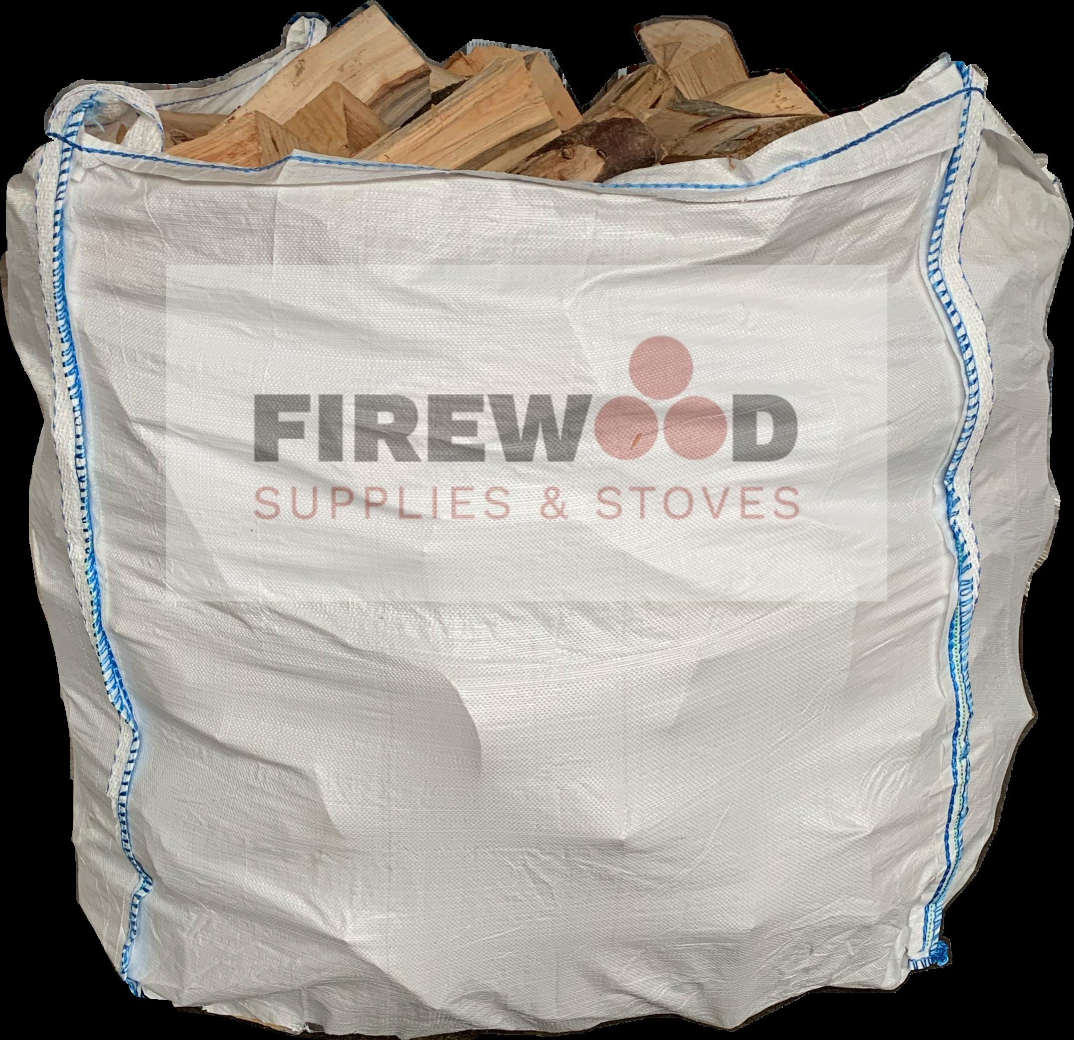 1m3 Bag Kiln Dried Hardwood Logs <b>Ash<b>